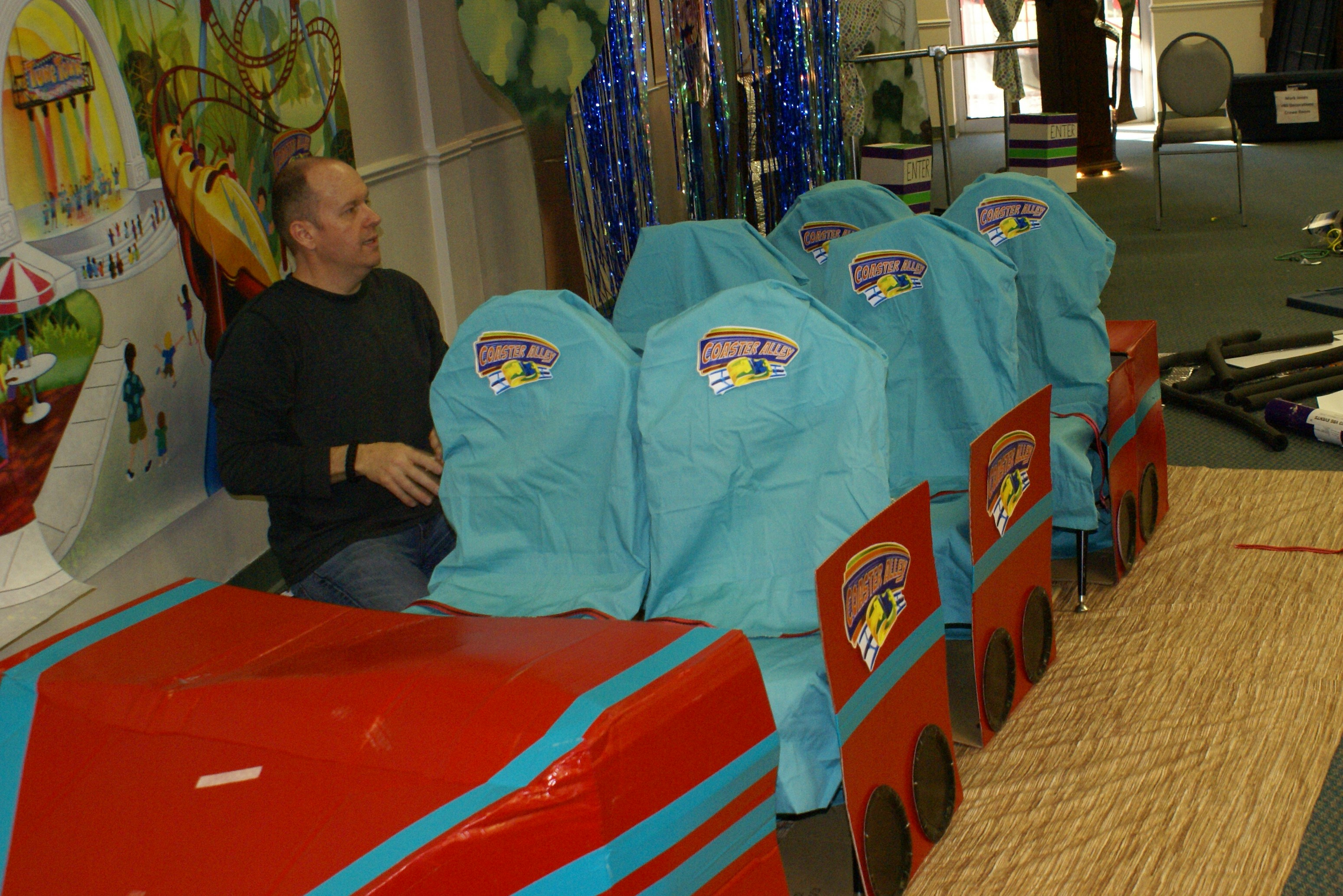 Roller Coaster VBS Decorations