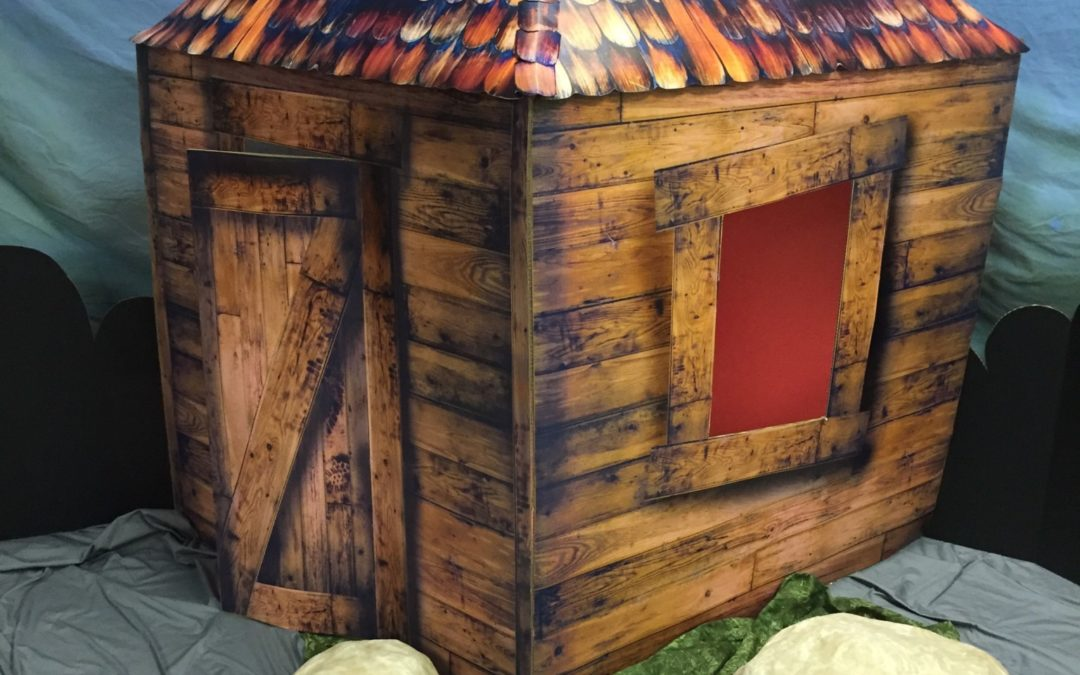 How to Make a VBS Clubhouse