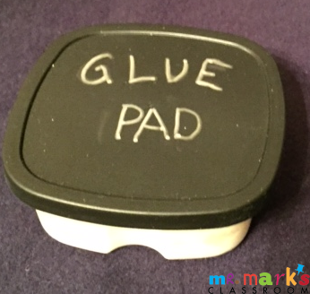 Less Mess Glue Pad