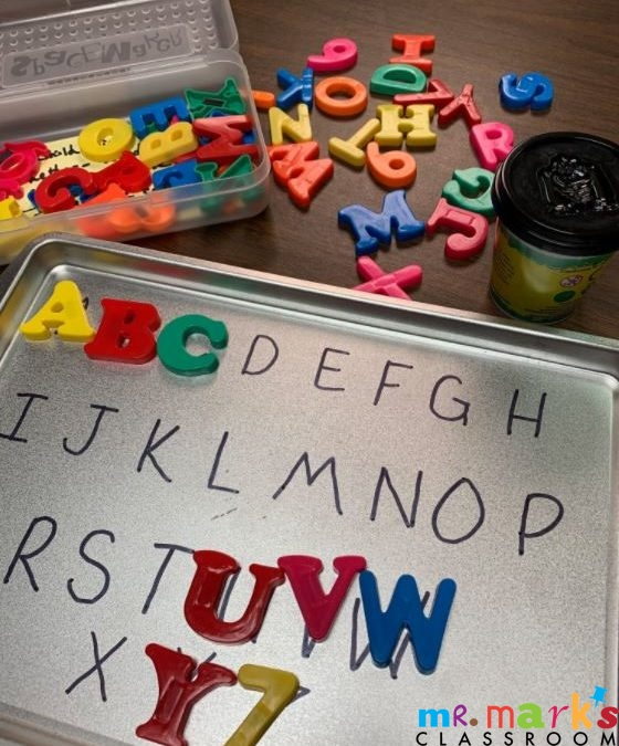Magnetic Letters and Bible Skills